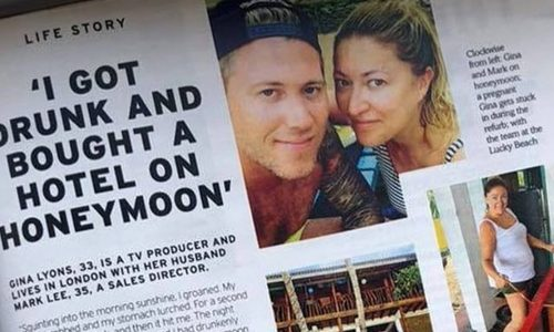 "En plena ""Borrachera"" pareja de luna de miel compra el hotel donde se alojan"