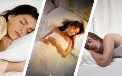 Las mejores posturas para conciliar el sueño